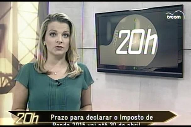 TVCOM 20 Horas - 3ºBloco - 02.03.15