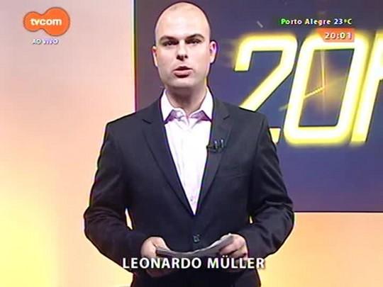TVCOM 20 Horas - Novo indexador da dívida do estado com a União pode ficar para 2016 - 31/03/2015
