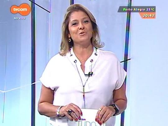 TVCOM Tudo Mais - Lúcio Brancato vai ao Opinião conferir os bastidores do show da Rosa Tattooada