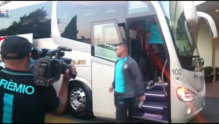 Grêmio chega ao México para estrear na Libertadores