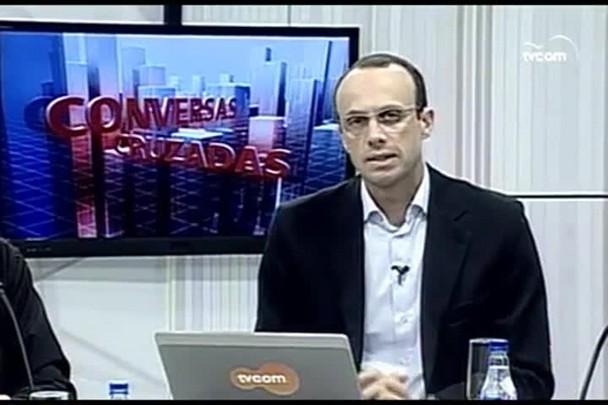 TVCOM Conversas Cruzadas. 3º Bloco. 01.06.16