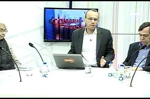 TVCOM Conversas Cruzadas. 3º Bloco. 09.06.16