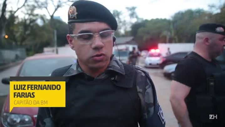 Capitão da Brigada Militar comenta morte de PM em tiroteio na Capital