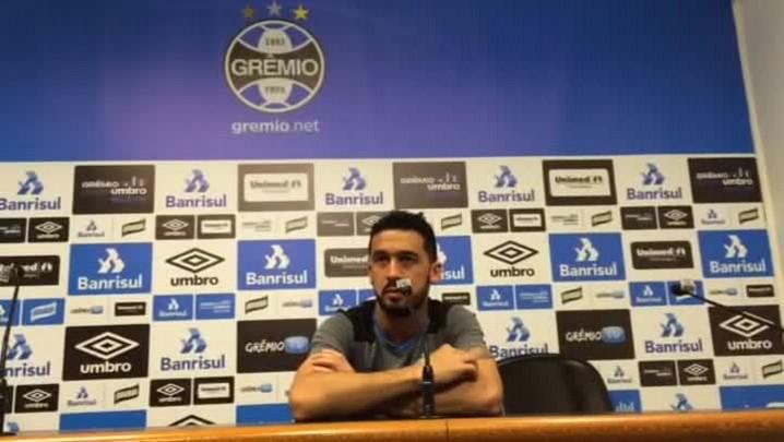 Edílson comenta a situação de Marcelo Hermes