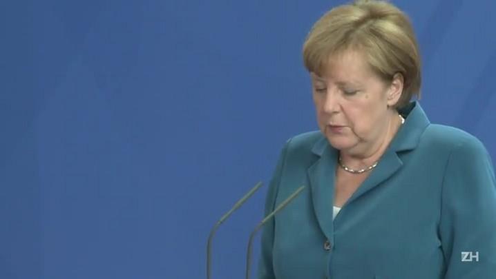 """Angela Merkel classifica ataque em Munique como \""""uma noite de horror\"""""""