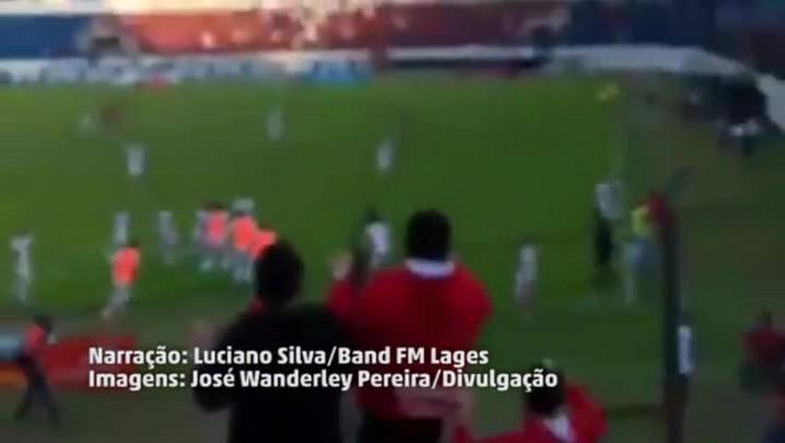 A emocionante narração de Luciano Silva, da Band FM, no gol de Marcelinho Paraíba