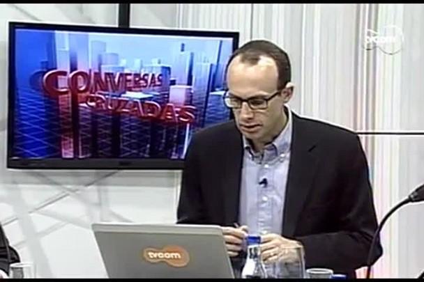 TVCOM Conversas Cruzadas. 4º Bloco. 01.08.16