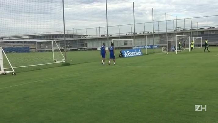 Em recuperação de lesões, Edílson e Luan correm no CT do Grêmio