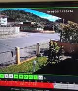 Câmeras registram acidente no bairro Aventureiro em Joinville