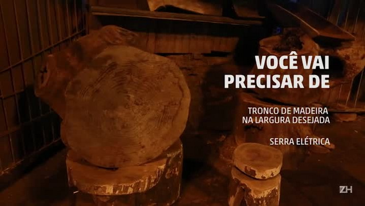 Tampo de mesa de madeira rústica