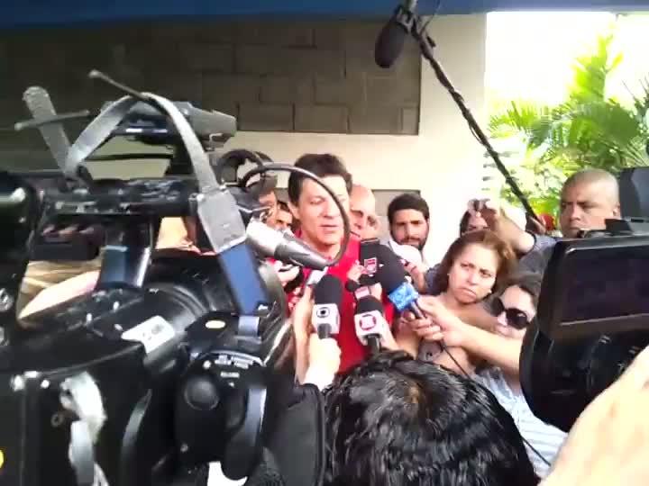 Eleições em SP: Fernando Haddad comenta expectativa para o debate final