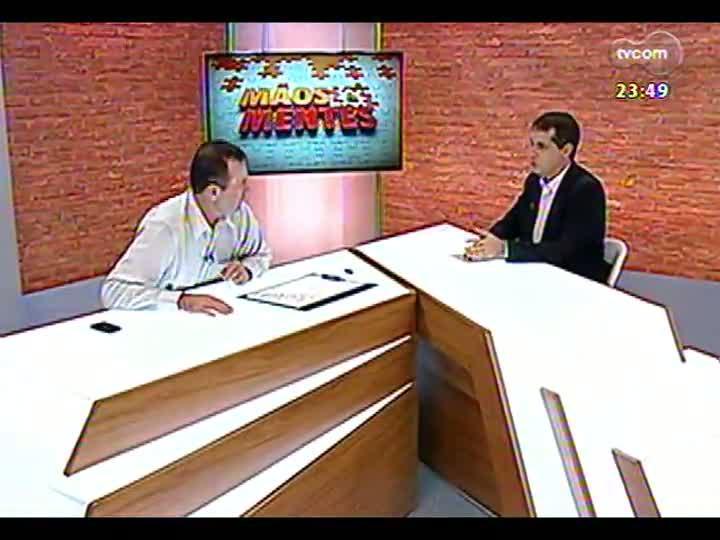 Mãos e Mentes - Presidente da Piá, Gilberto Kny - Bloco 2 - 18/03/2013