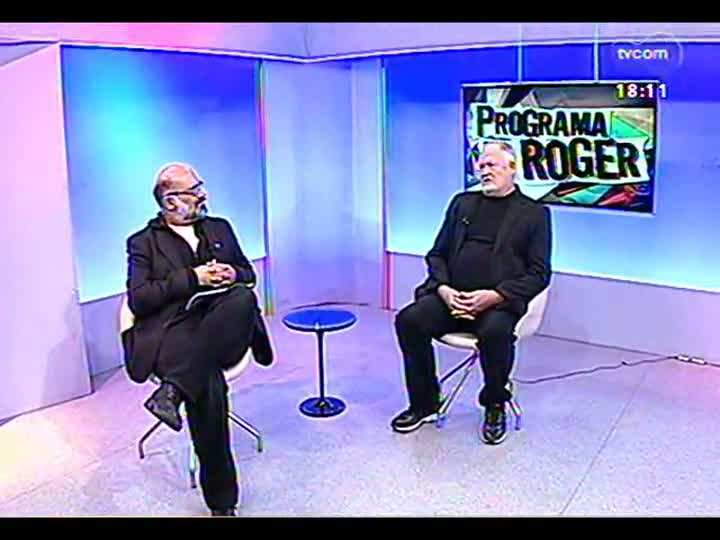 Programa do Roger - Artista Michael Chapman fala sobre a exposição \'Limites do Imaginário\' - bloco 3 - 17/05/2013