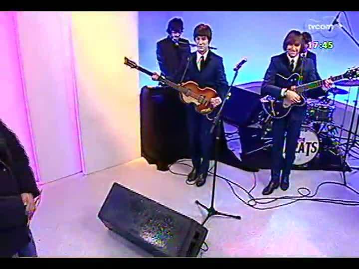 Programa do Roger - Argentinos do The Beats trazem canções dos Beatles - bloco 1 - 16/07/2013