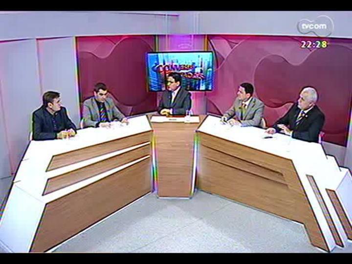 Conversas Cruzadas - Debate sobre os crimes que seguen sendo comandados de dentro dos presídios - Bloco 2 - 10/10/2013