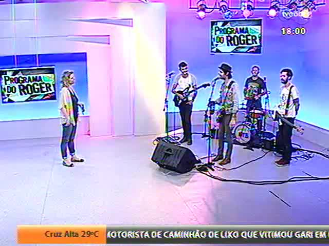 Programa do Roger - Confira o som da banda \'Name the band\' - blobo 2 - 13/11/2013