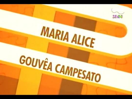 Mãos e Mentes - Professora Maria Alice Campesato, vencedora do Prêmio RBS de Educação na categoria Escola Pública RS - Bloco 1 - 20/12/2013