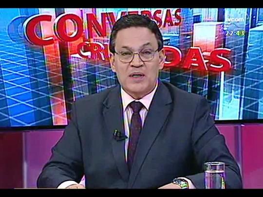 Conversas Cruzadas - Será que os presídios gaúchos são melhores que os do Maranhão? - Bloco 2 - 08/01/2014