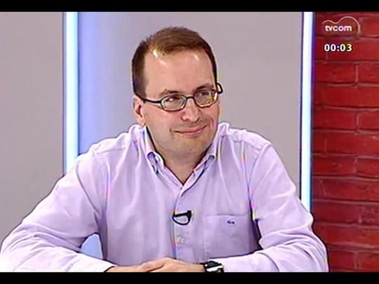 Mãos e Mentes - Doutor em comunicação pela PUCRS Eduardo Pellanda - Bloco 3 - 06/03/2014