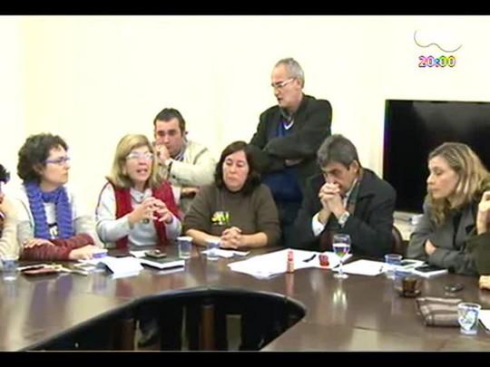TVCOM 20 Horas - Reunião com a Prefeitura de POA termina sem acordo - Bloco 1 - 10/06/2014