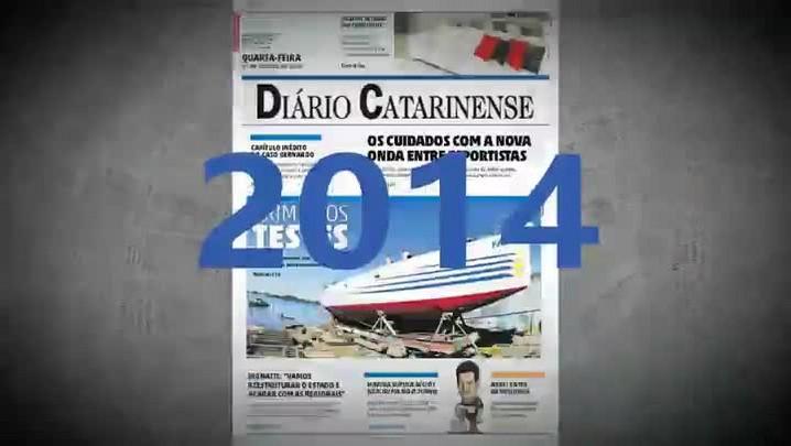 Confira os destaques de 2014 do Diário Catarinense