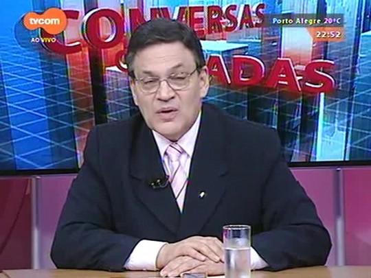 Conversas Cruzadas - Discussão sobre a possibilidade de adiamento do reajuste do funcionalismo estadual - Bloco 3 - 08/04/2015