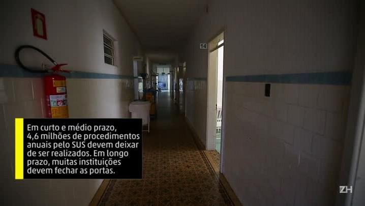 Hospitais que atendem pelo SUS agonizam no Estado