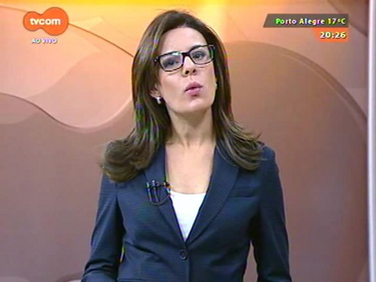 TVCOM 20 Horas - Lago Guaíba registra maior nível em 30 anos - 23/07/2015