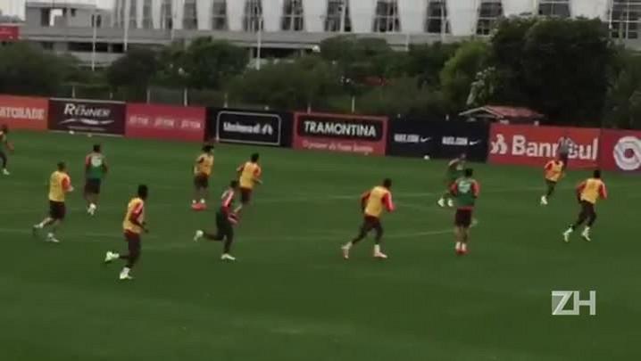 Antes de viajar para Itu, Inter treina no CT