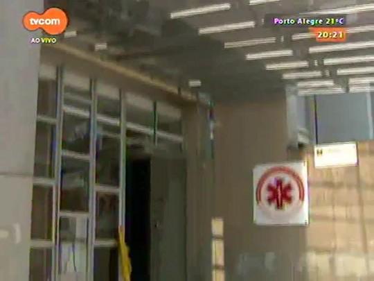 TVCOM 20 Horas - Funcionários da Central de Regulação do Samu entram em greve por falta de pagamento dos salários - 09/09/2015