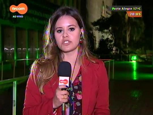 TVCOM 20 Horas - Sartori critica atuação de servidores que impediram deputados de acessar a Assembleia - 16/09/2015