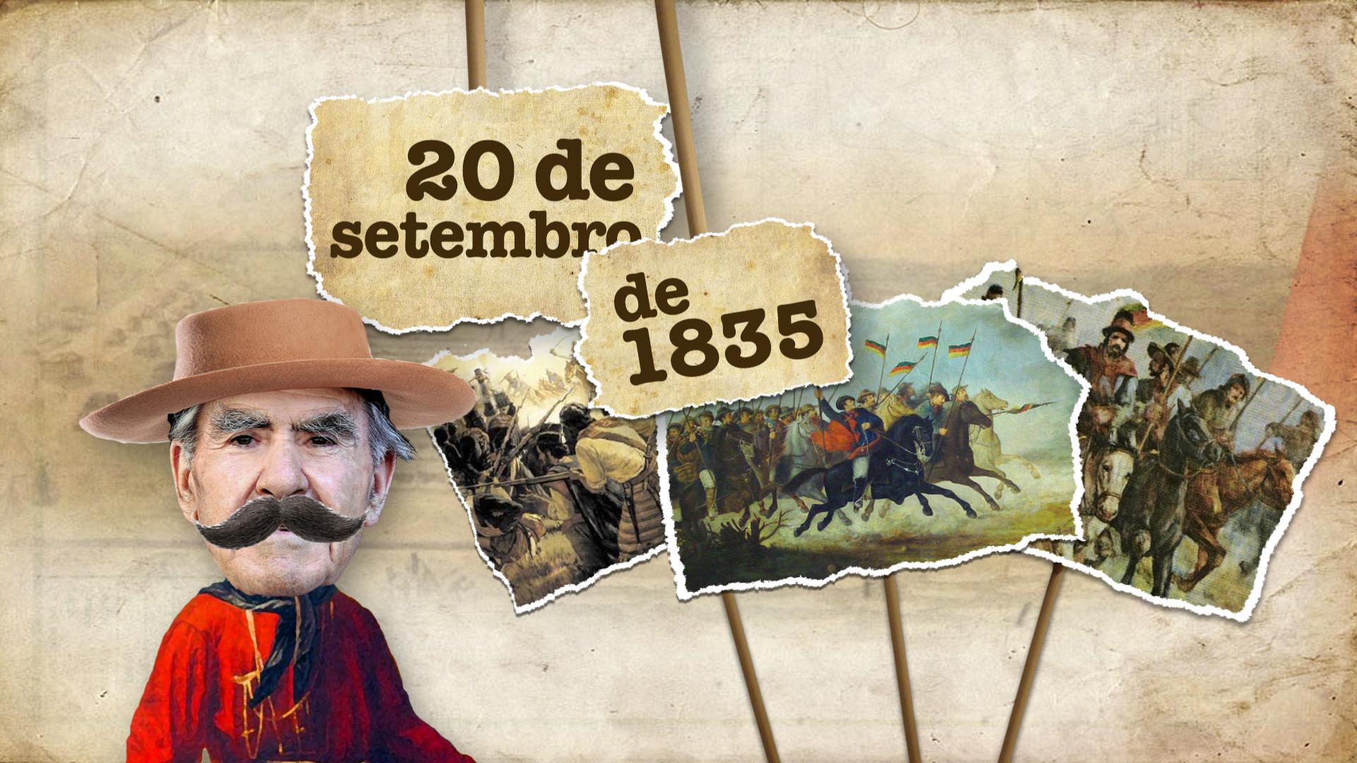 #LaCuia: quem ganhou a Guerra dos Farrapos