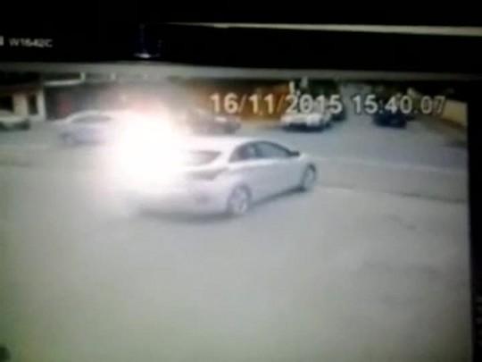 Funcionários chamam agentes de trânsito após assalto em Joinville