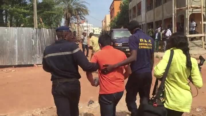 Reféns libertados no Mali