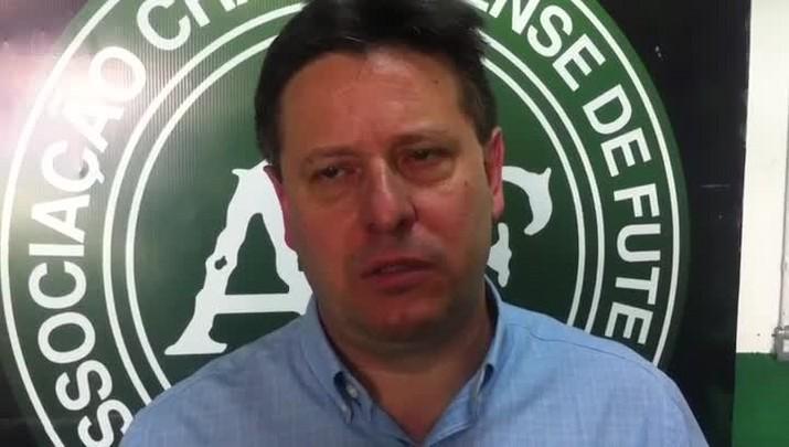 Presidente da Chapecoense espera recorde de público contra o San Lorenzo