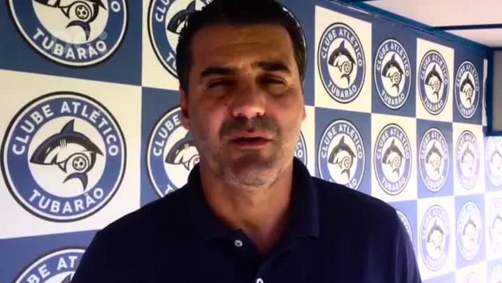 Técnico do Tubarão, Marcelo Mabília fala sobre seu perfil de trabalho