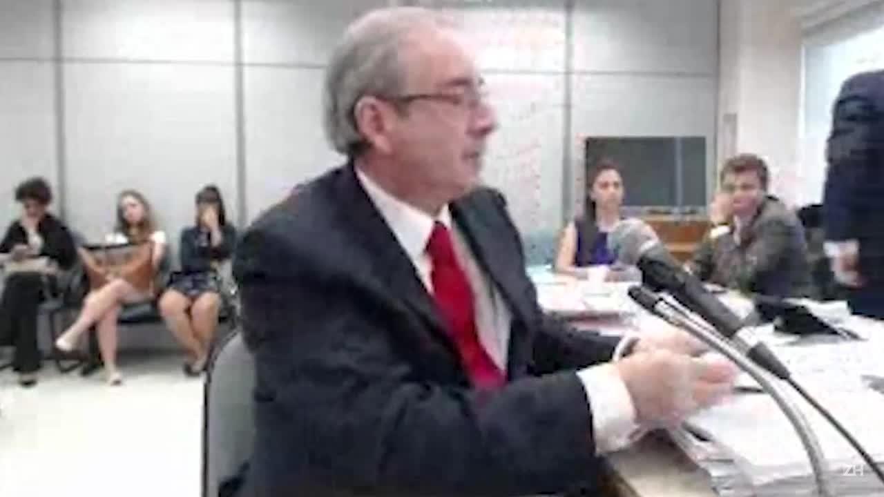 Em depoimento a Moro, Cunha diz que tem aneurisma cerebral