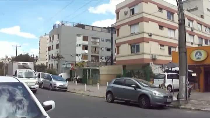 Teste: ZH Bela Vista observa circulação de caminhões na Lucas de Oliveira