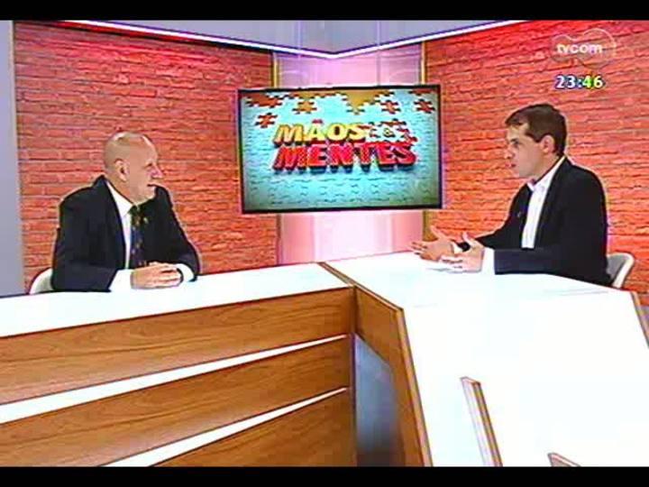 Mãos e Mentes - Palestrante, professor e doutor em Comunicação Dado Schneider - Bloco 2 - 22/01/2013
