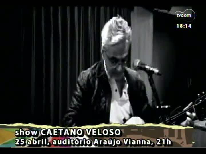 Programa do Roger - Participação do músico Marcelo Birck e do curados de arte Lucas Pexão - bloco 3 - 26/03/2013