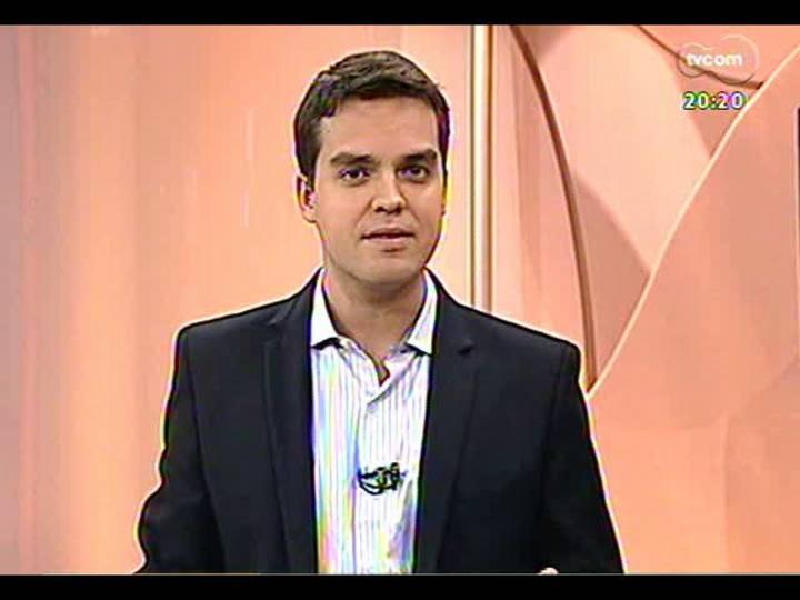 TVCOM 20 Horas - Construção do presídio de Canoas - Bloco 3 - 17/04/2013
