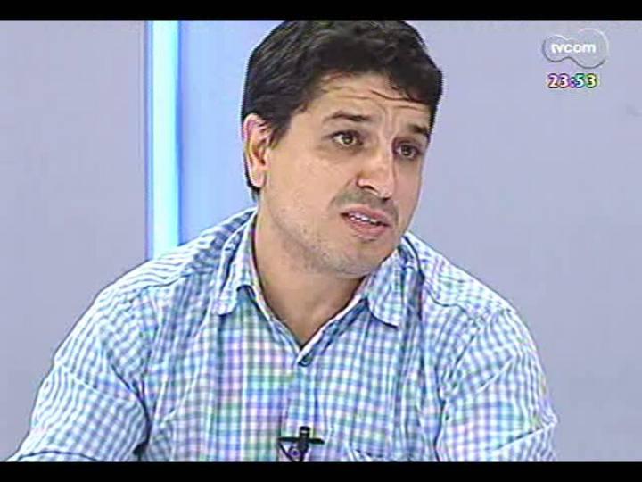 Mãos e Mentes - Vencedor do Prêmio Moacyr Scliar de Literatura 2013, professor Altair Martins - Bloco 3 - 19/04/2013