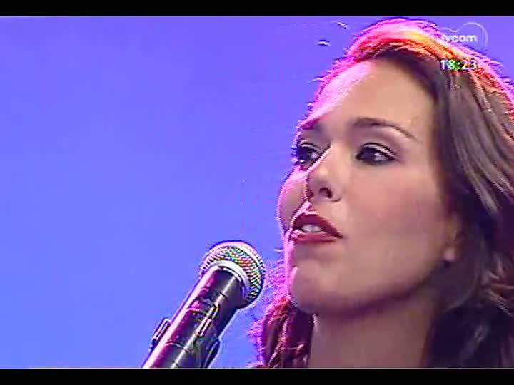 Programa do Roger - Nani Medeiros canta Elis Regina - bloco 4 - 22/04/2013