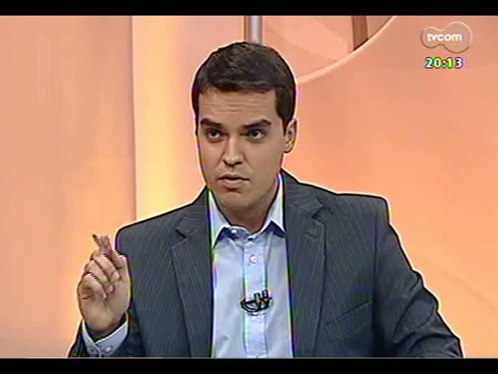 TVCOM 20 Horas - Operação Concutare: Léo Sabbala Jr entrevista o advogado de um dos presos - Bloco 2 - 03/05/2013