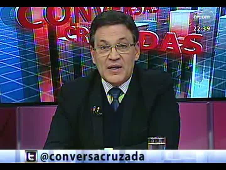 Conversas Cruzadas - Político e professor debatem a necessidade de um plebiscito para reforma política - Bloco 2 - 02/07/2013