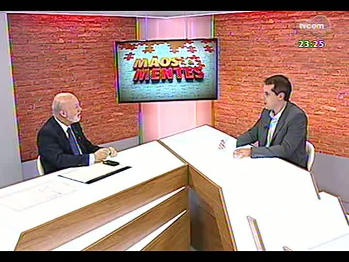 Mãos e Mentes - Presidente do Sindicato das Empresas de Telefonia Celular, Eduardo Levy - Bloco 3 - 07/07/2013