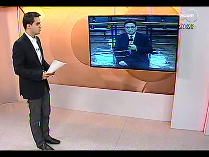 TVCOM 20 Horas - Informações sobre a retomada das audiências na Justiça sobre a tragédia na Boate Kiss - Bloco 3 - 09/07/2013