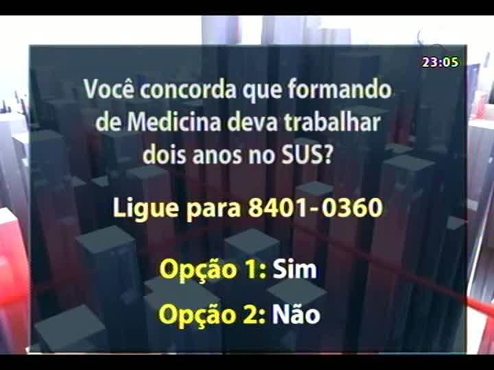 """Conversas Cruzadas - Debate sobre os prós e contras do programa \""""Mais Médicos\"""", lançado pelo governo federal - Bloco 4 - 09/07/2013"""