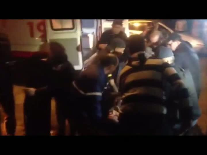 Acidente deixa uma pessoa ferida na zona Norte Porto Alegre. 12/07/2013