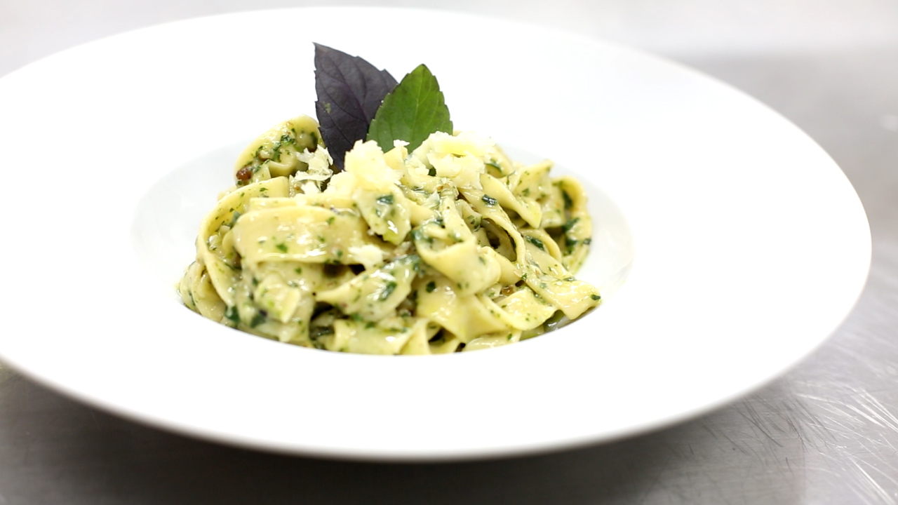 Receita Gastrô: Pasta al Pesto